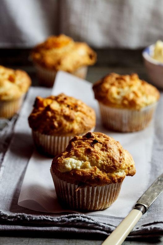 Goatcheese Pumpkin Muffins