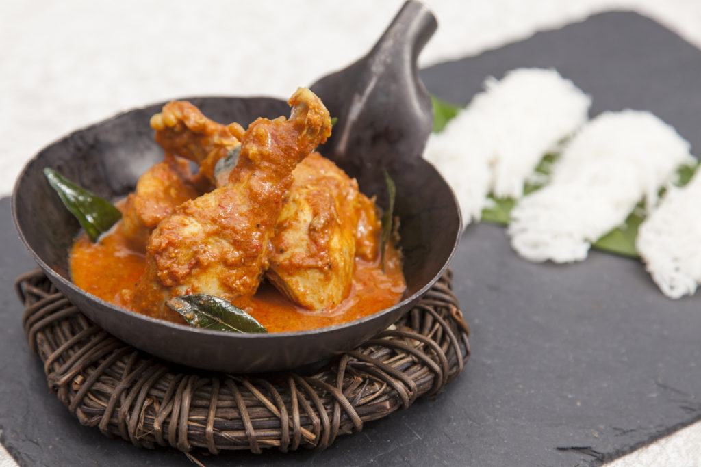 Tikka masala from guinea fowl