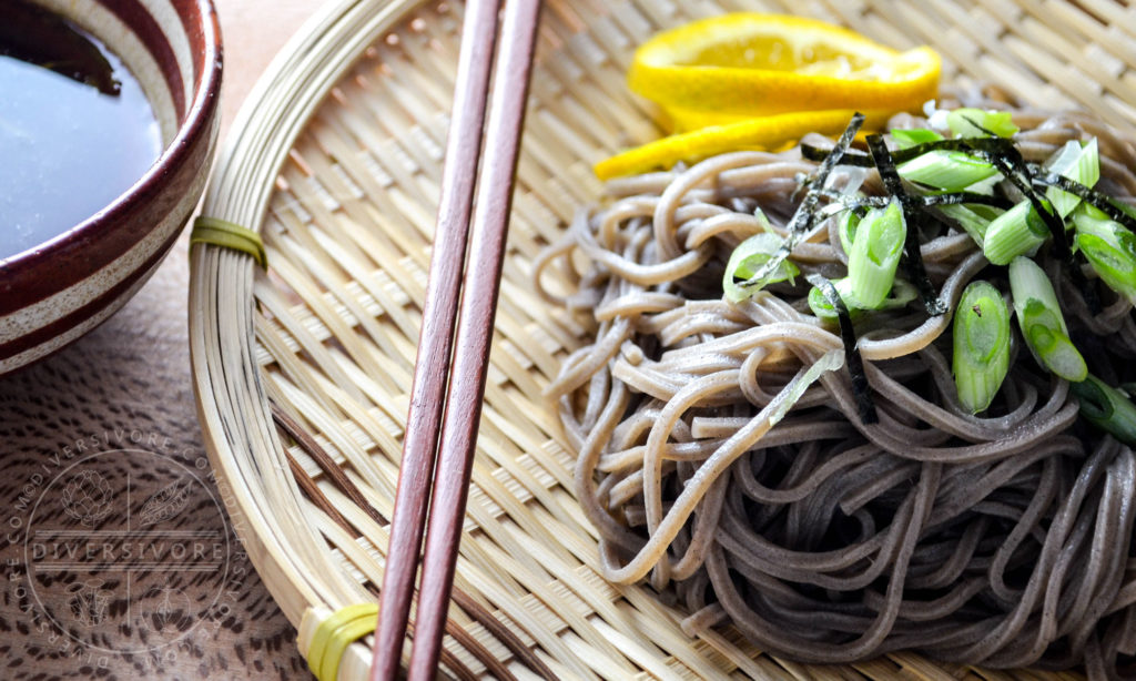 Are you ready for Zaru Soba?