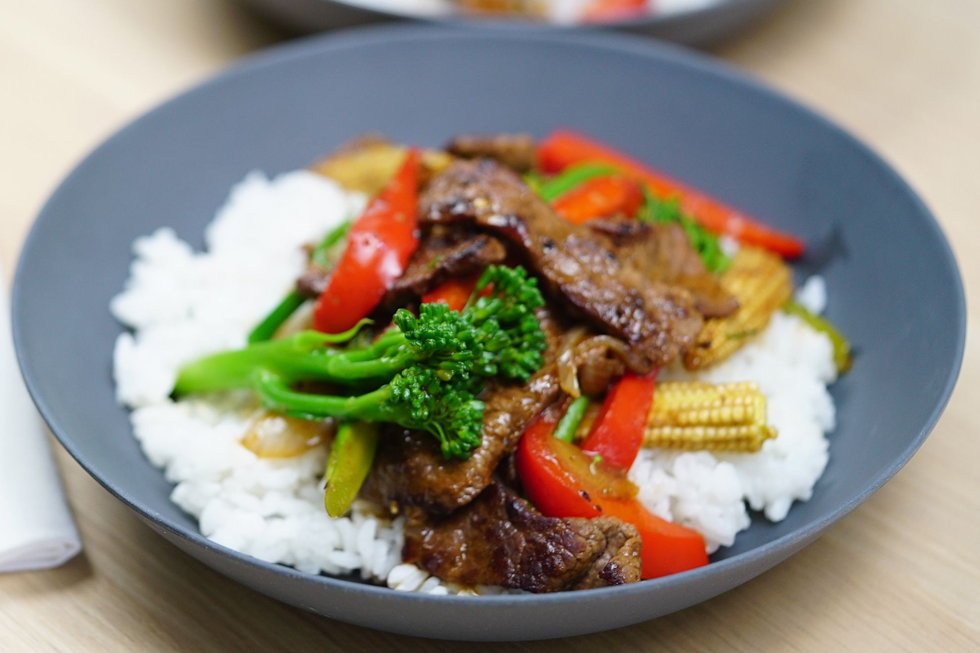 Sauteed Beef with Vegetables