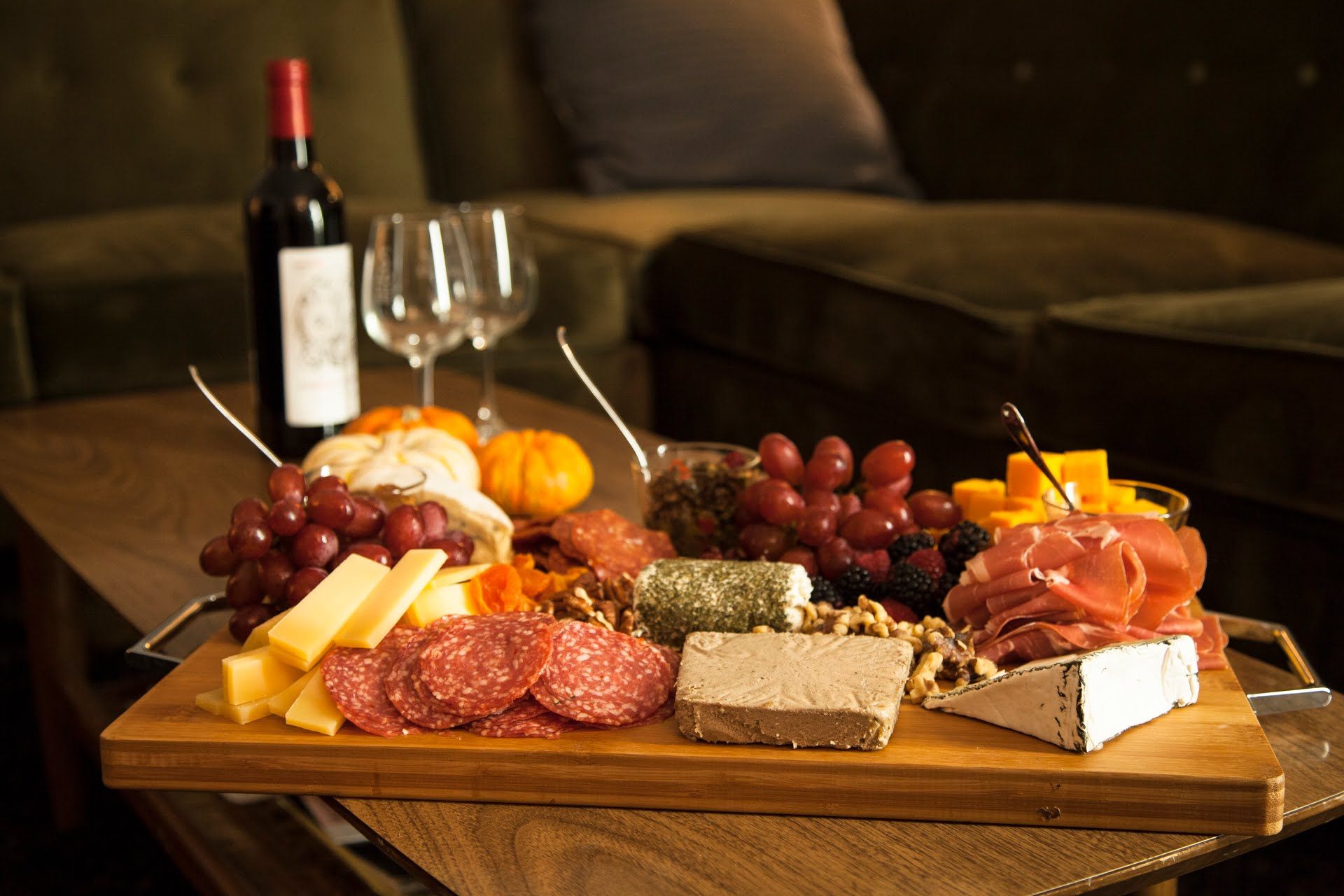Classic Meat and Cheese Platter