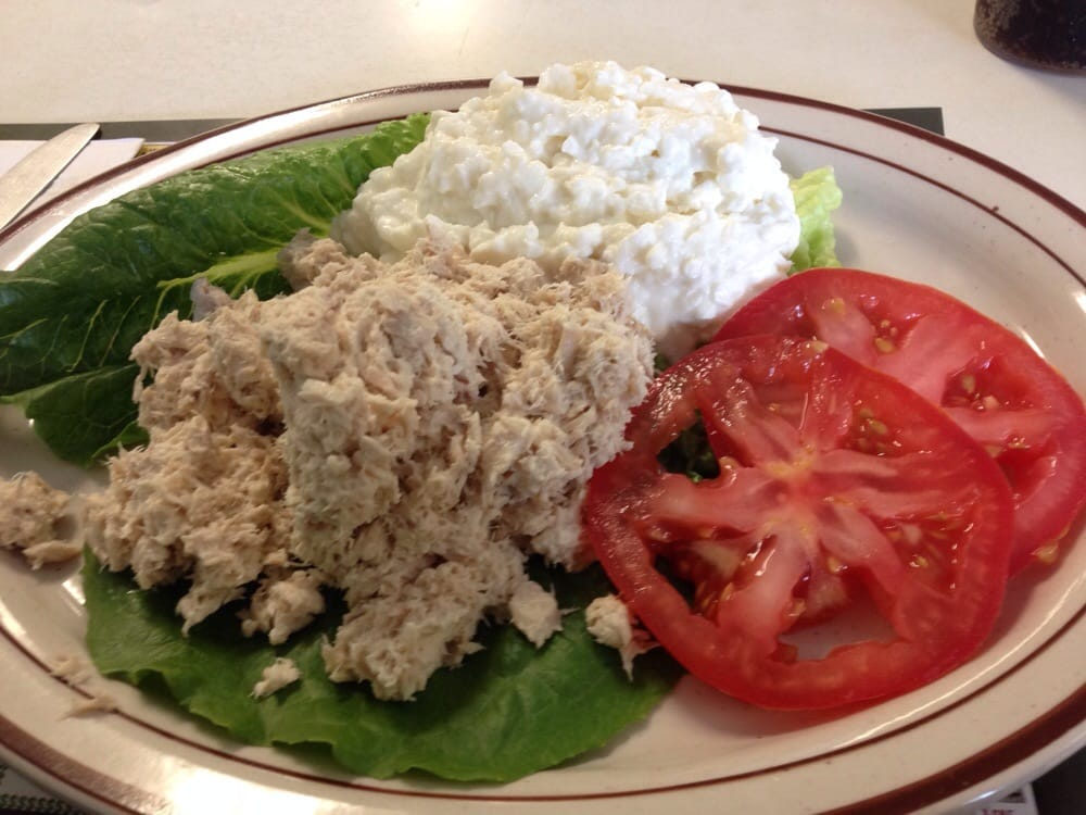 Tuna Salad with Cottage Cheese