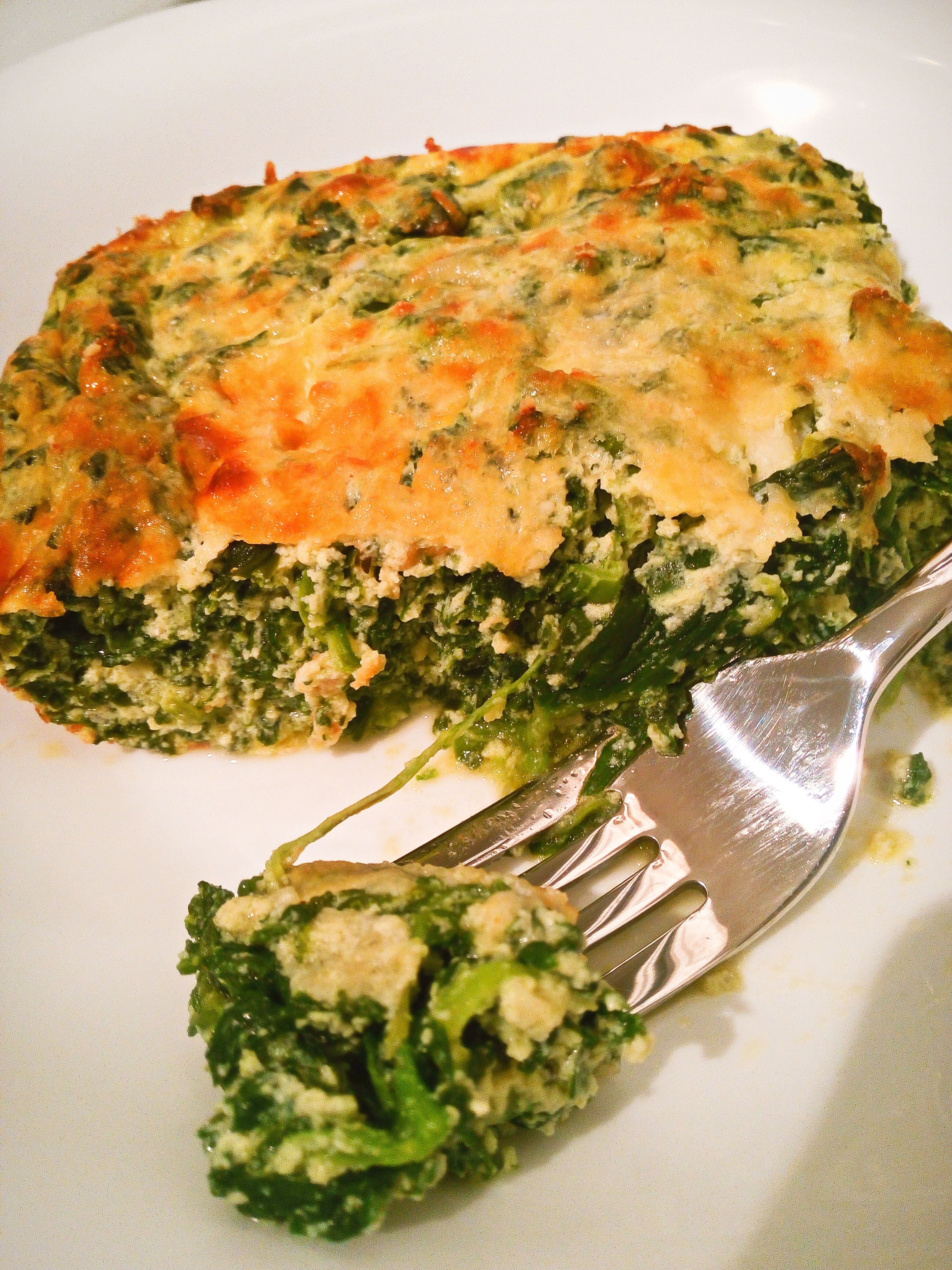 Baked Spinach and Ricotta