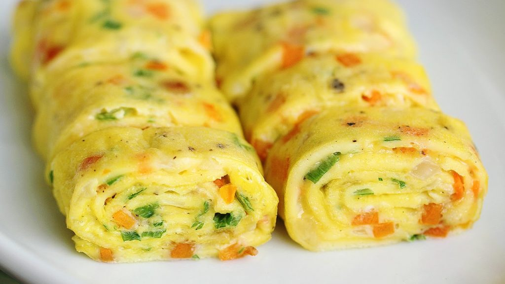 An egg roll: you will be delighted!