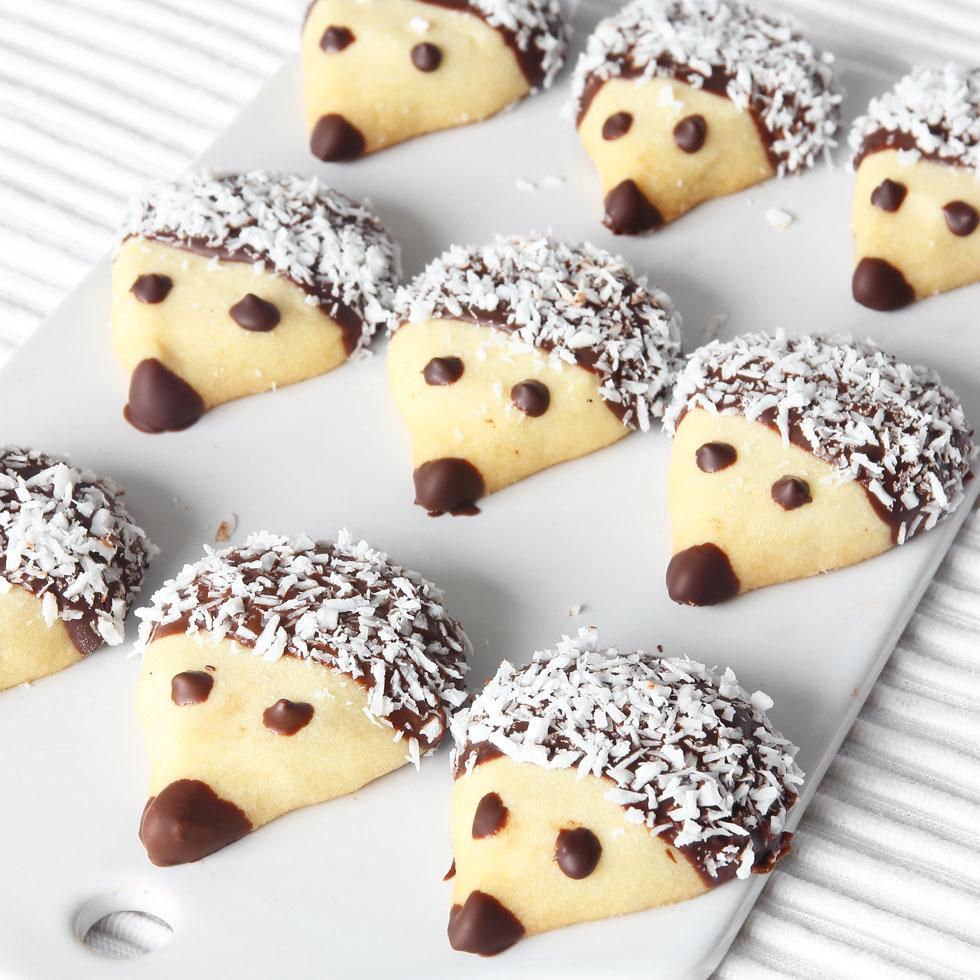 "Biscuit cake ""Hedgehogs"""