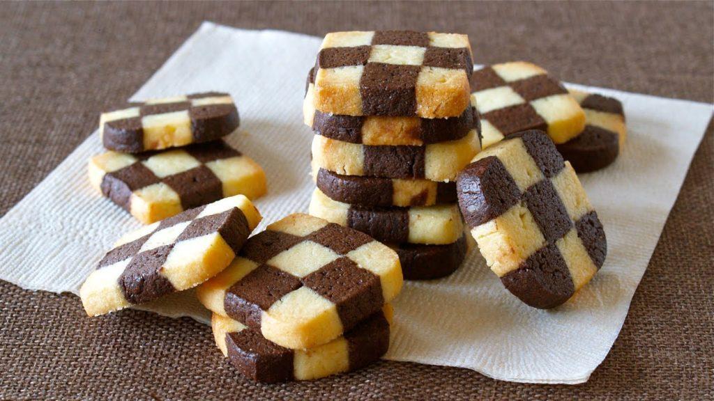 Amazing chess cookies
