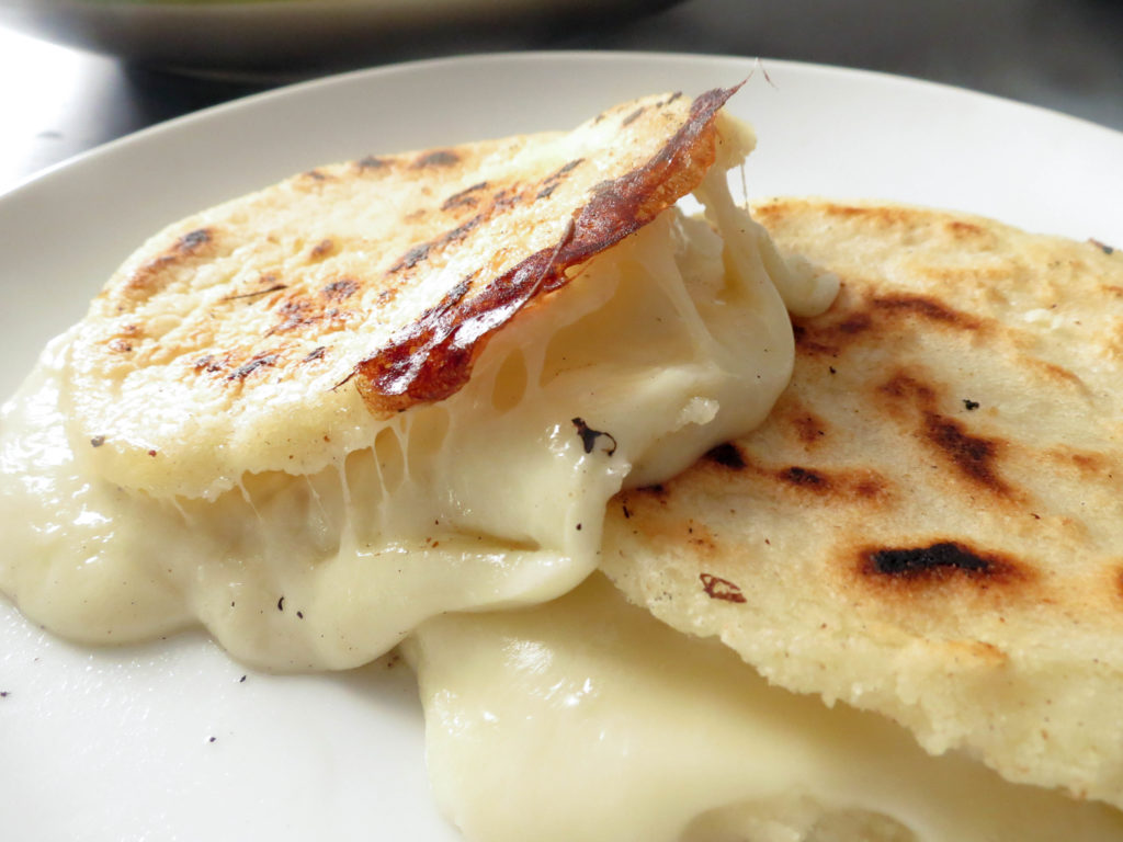 Flat cakes with cheese: you can serve them both cold and hot!