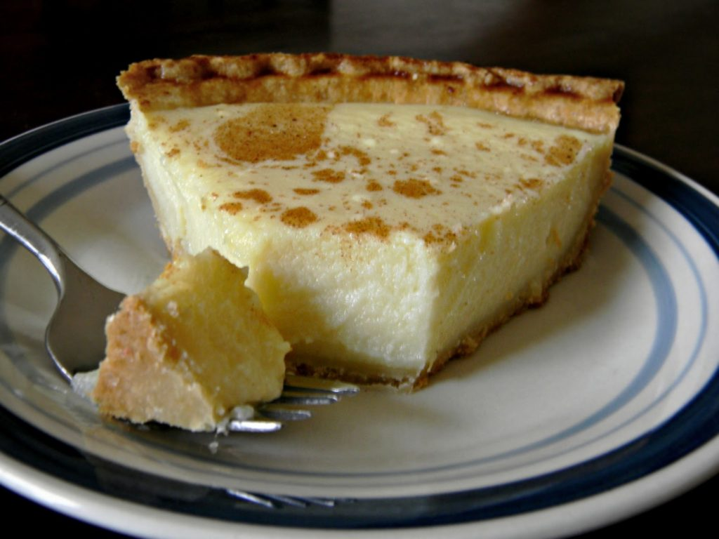 Gentle honey-cottage cheese cake