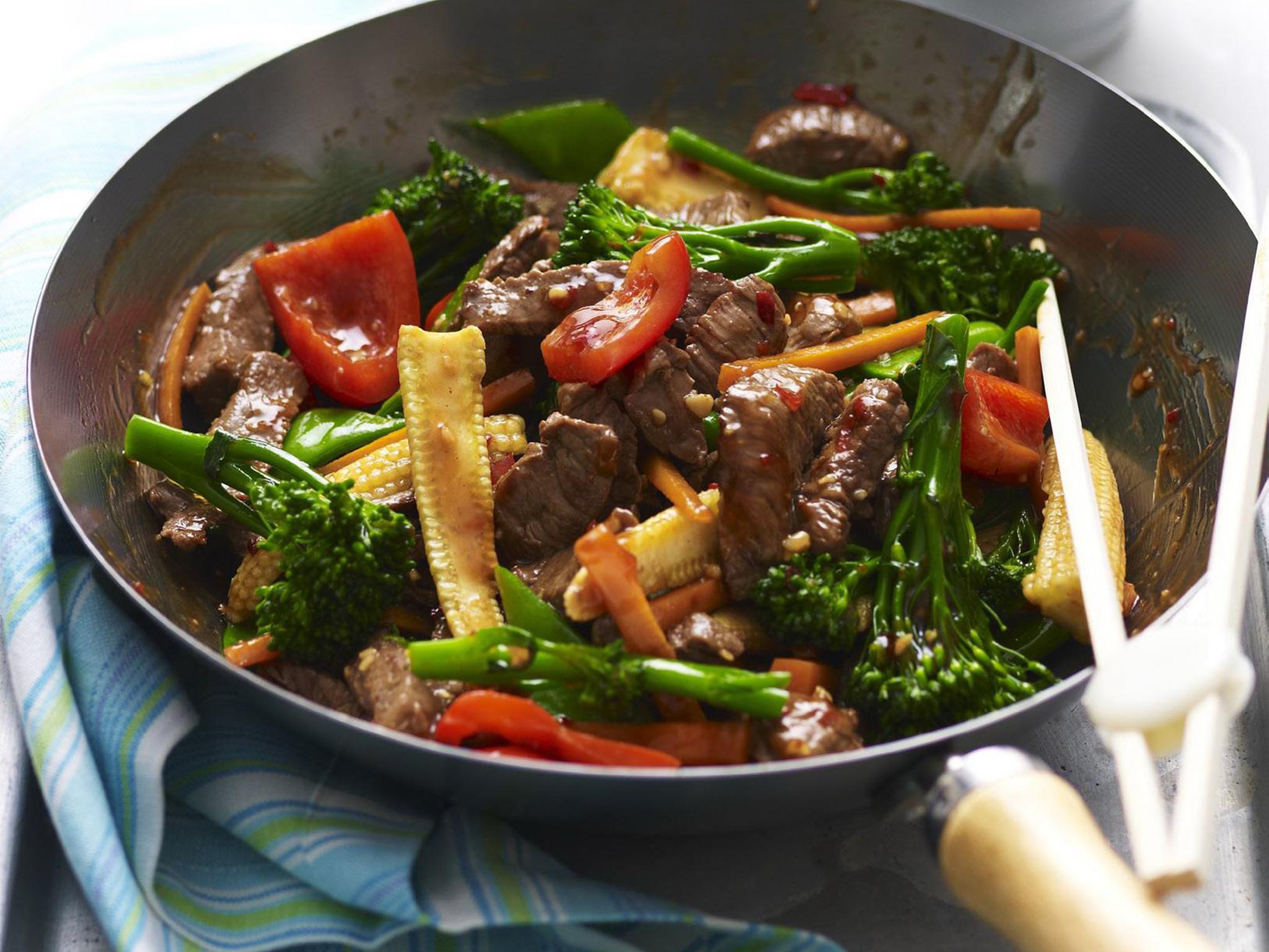 Garlic Beef and Vegetable Stir Fry