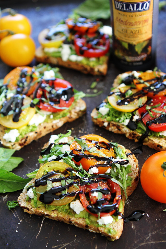 Avocado and Goat cheese Toast