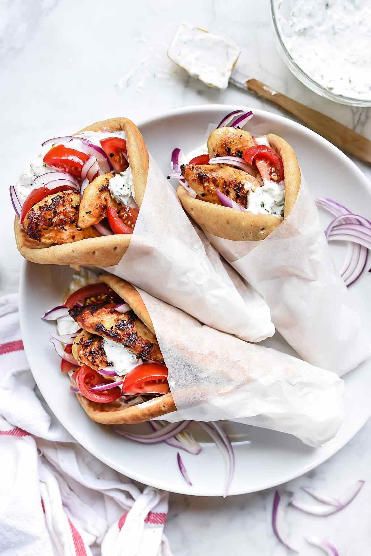 Greek Chicken Gyro