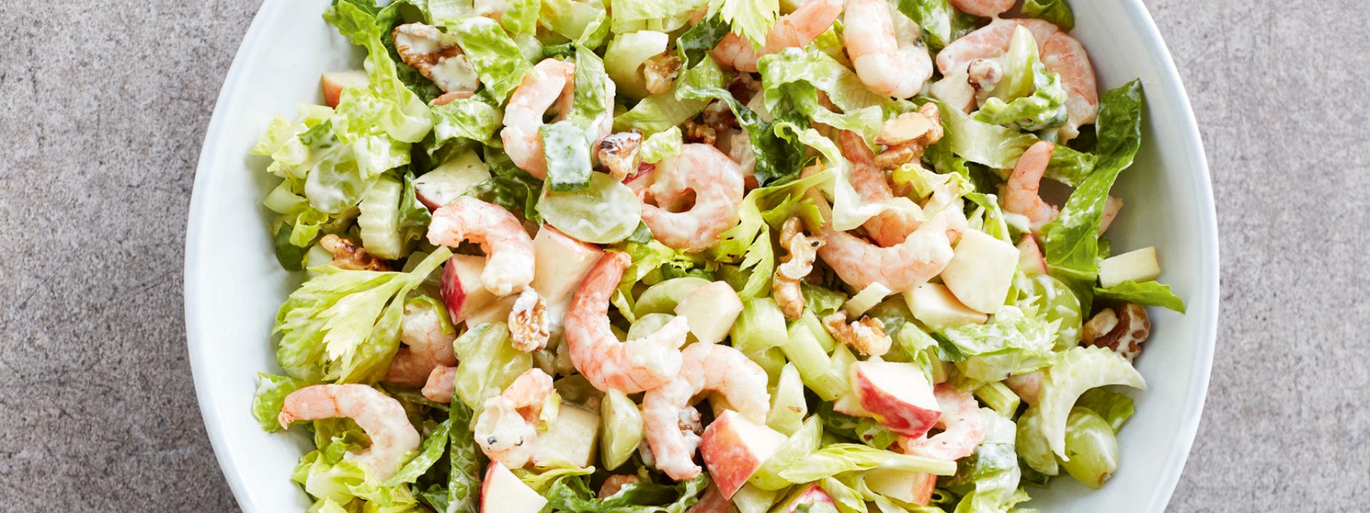 Prawn Waldorf Salad