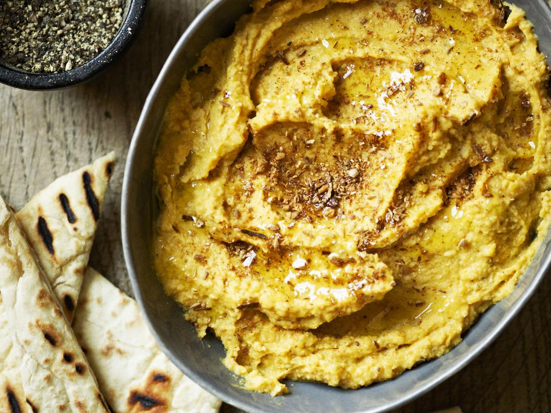 Roasted Squash Houmous