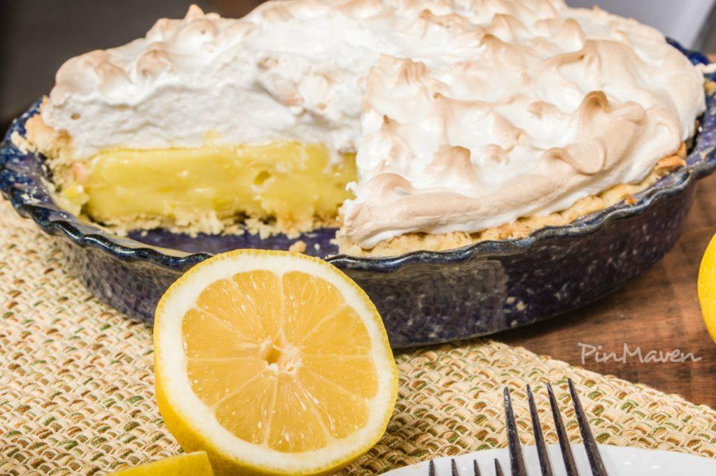 Incredibly tender lemon pie