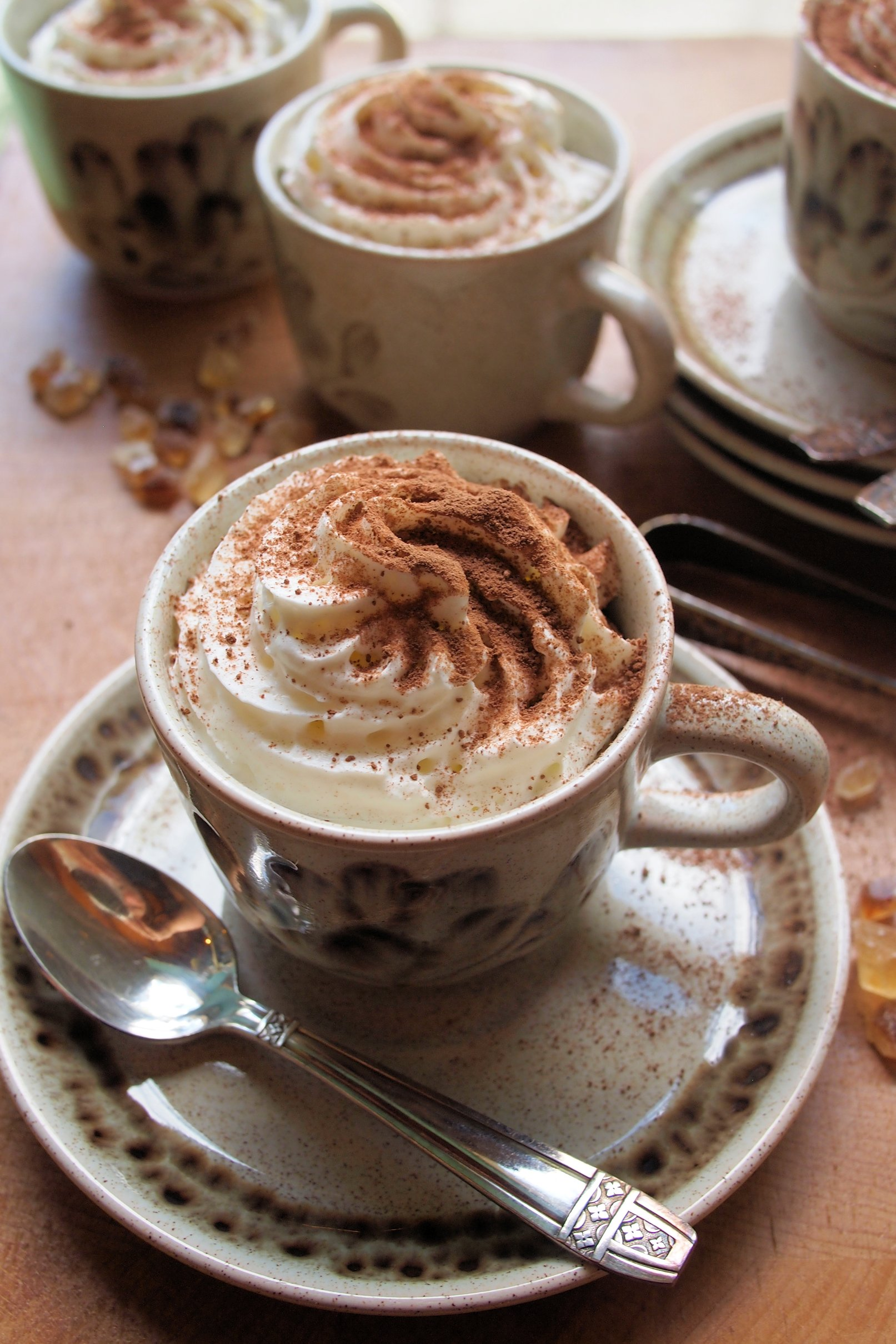 Coffee and Chocolate Cups