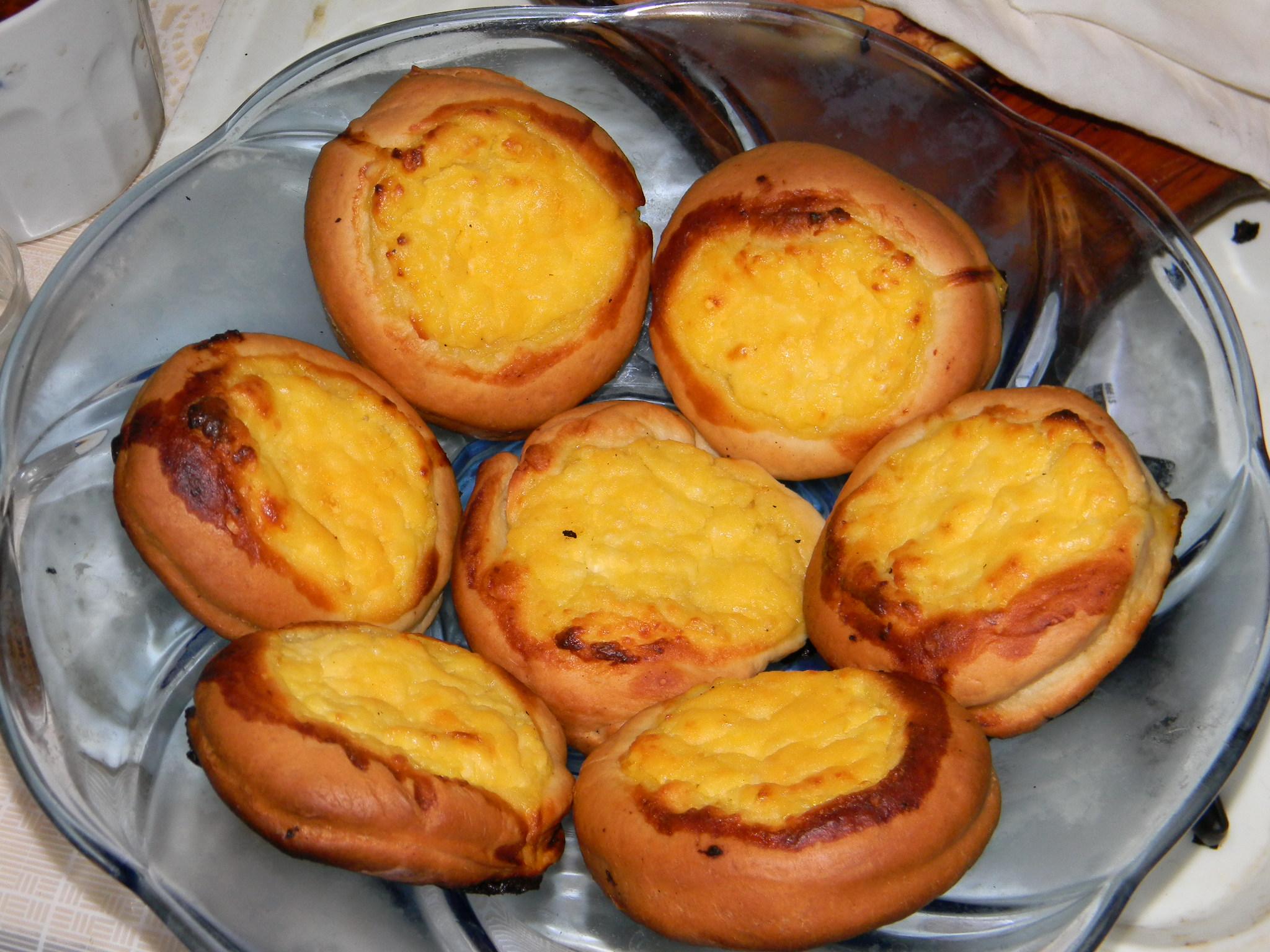 Шаньги с картошкой - Пошаговый рецепт с фото Выпечка 94