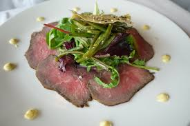 Roast Beef Carpaccio