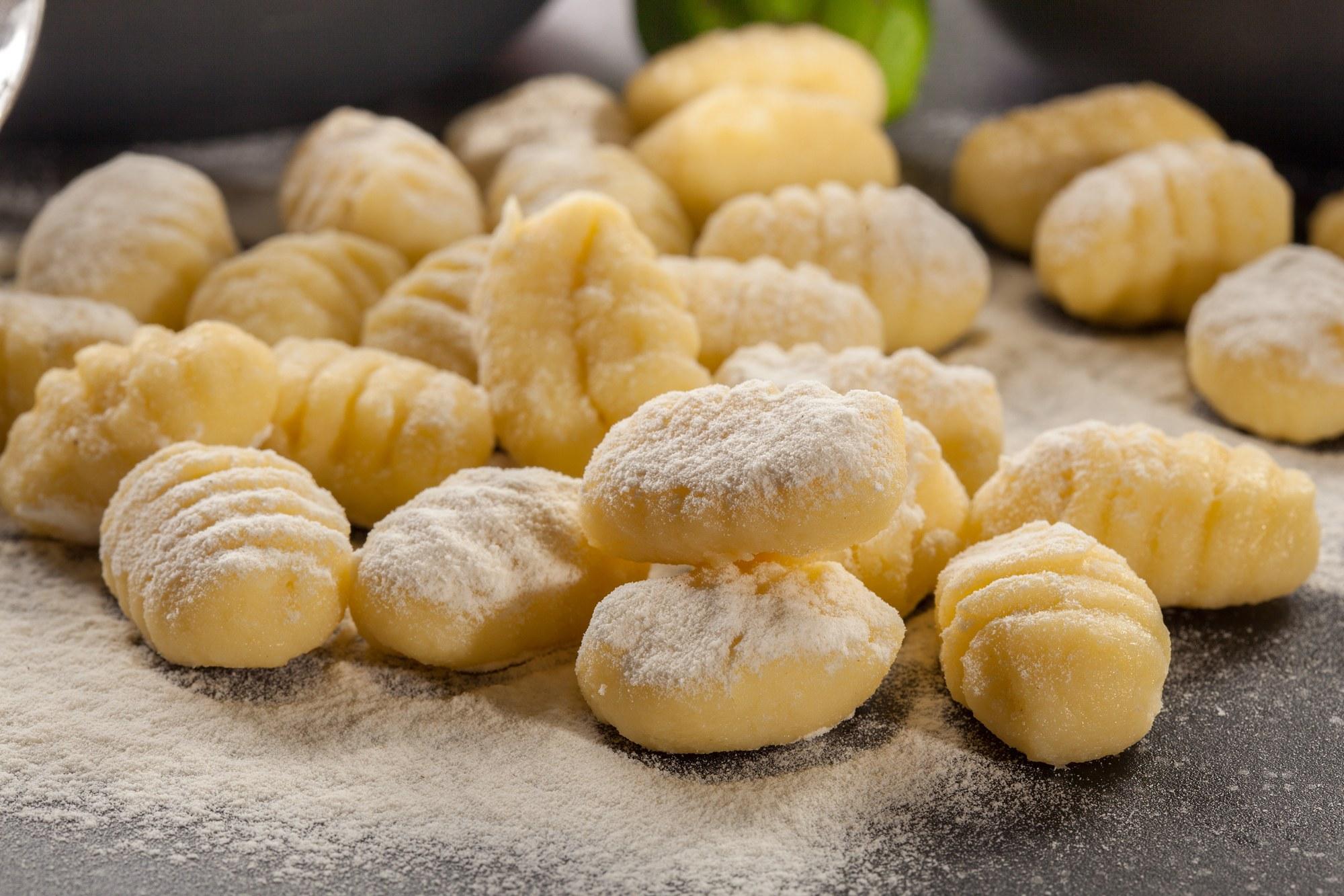 Homemade Gnocci