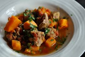 Stew with potatoes and pork