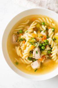 Tasty Pot Chicken Noodle Soup