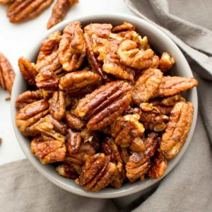 Snack-Time Cinnamon Pecans