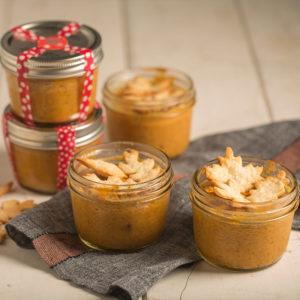 Quick Pumpkin Pie Jars