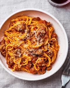 Scrumptious Instant Pot Spaghetti