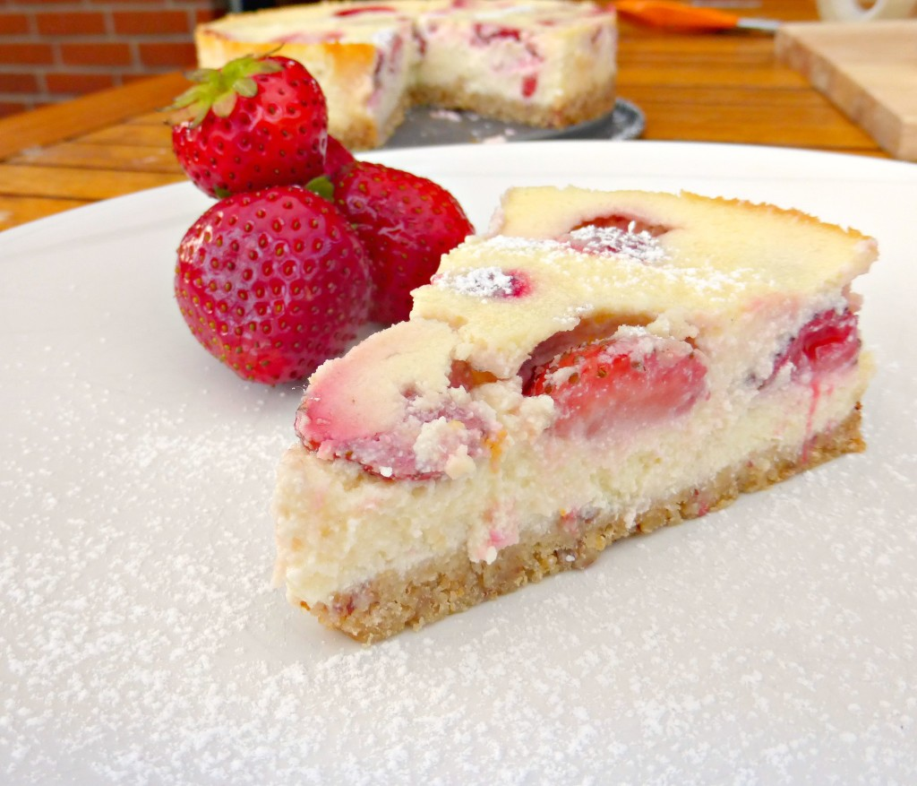 cottage cheese cake cottage cheese cake with strawberries 3099