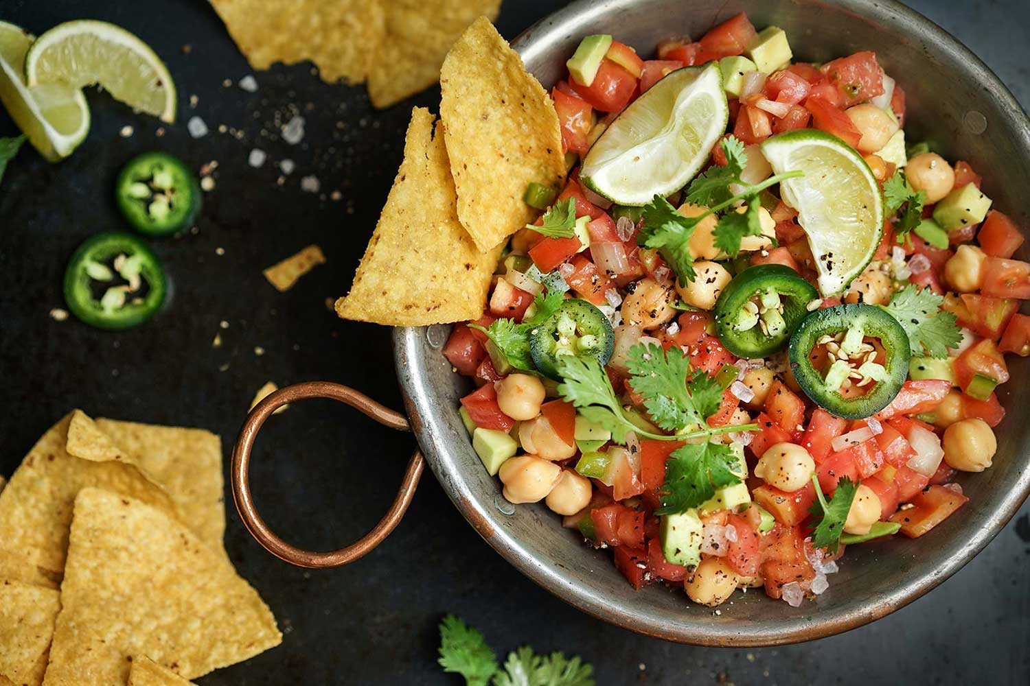Mexican Garbanzo Salad