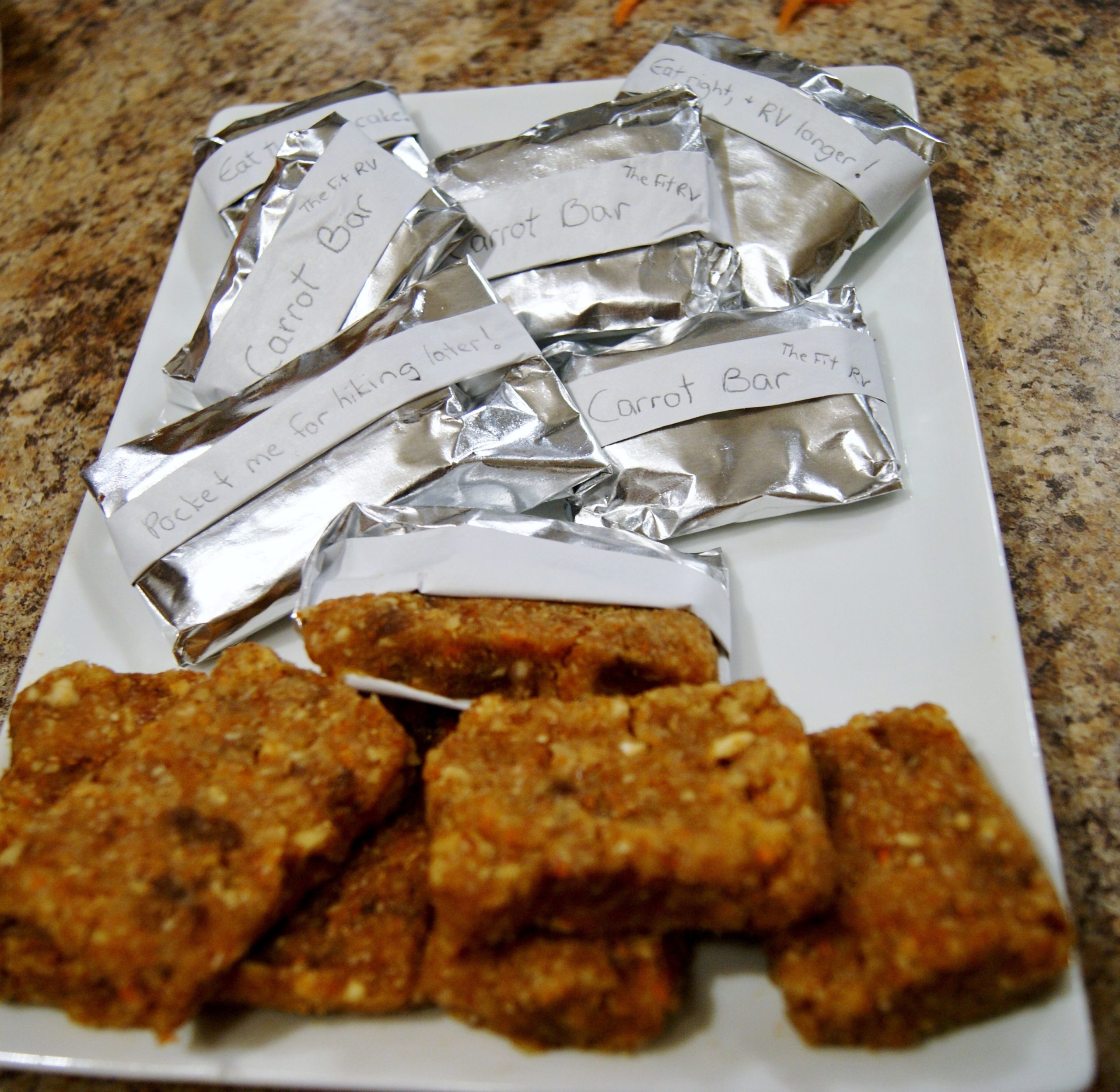 James' Protein Bars