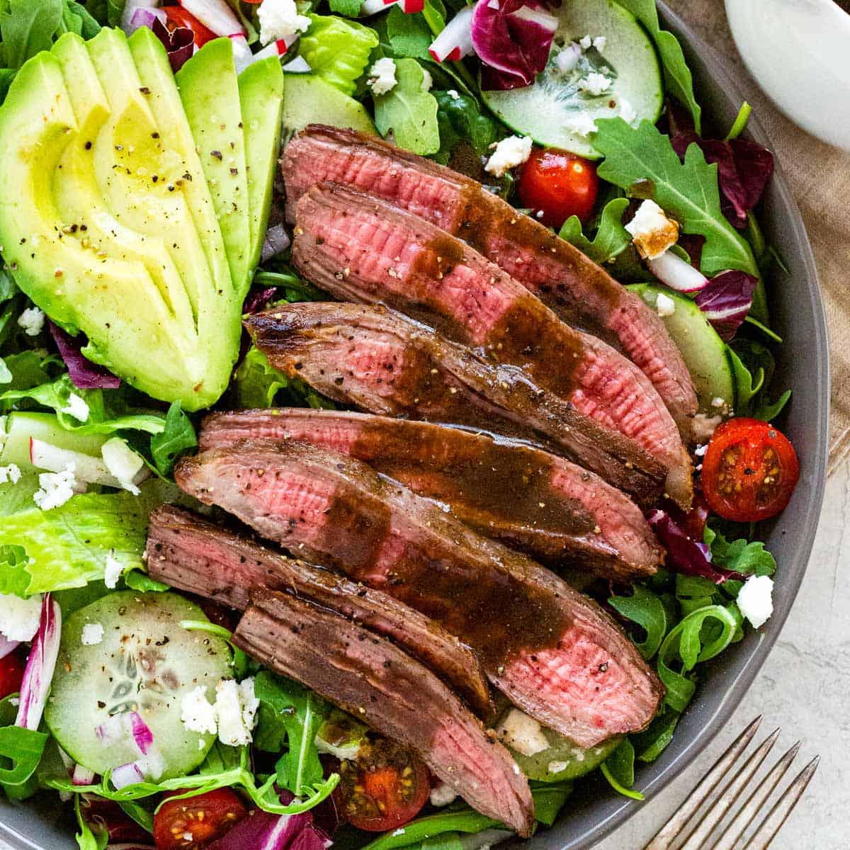 Balsamic Steak Salad Recipe