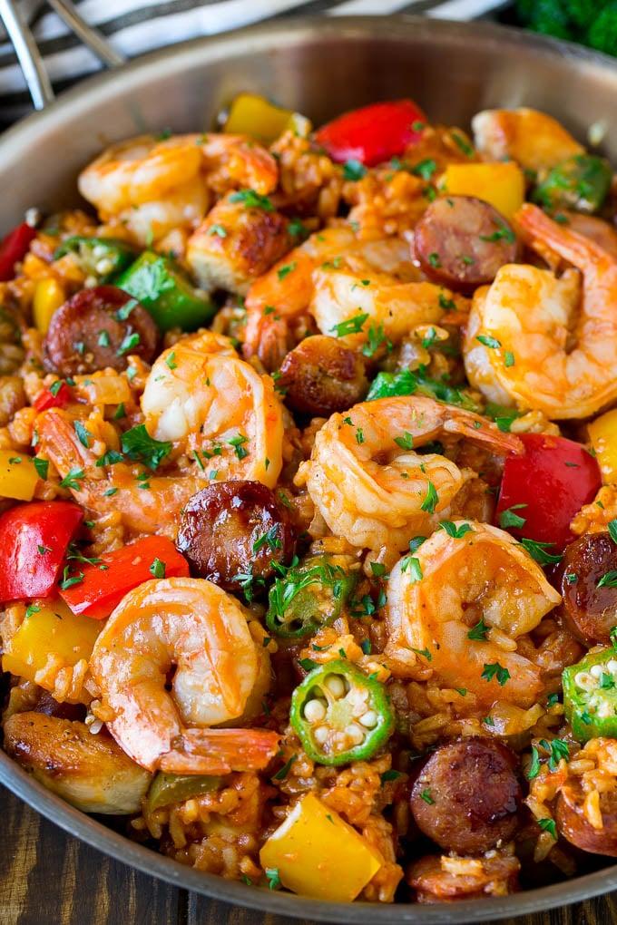 Easy Jambalaya Recipe (Creole)