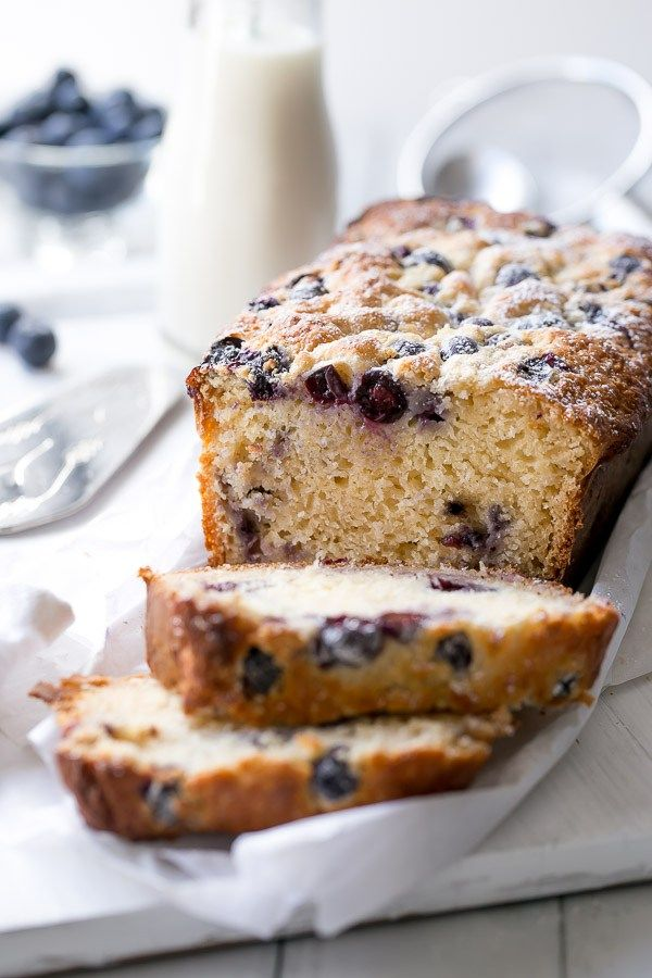 Blueberry Coconut Muffin Cake