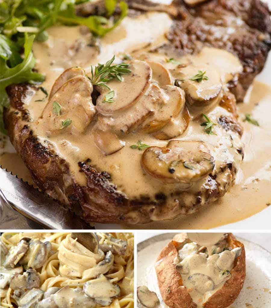 Spicy Creamed Steak