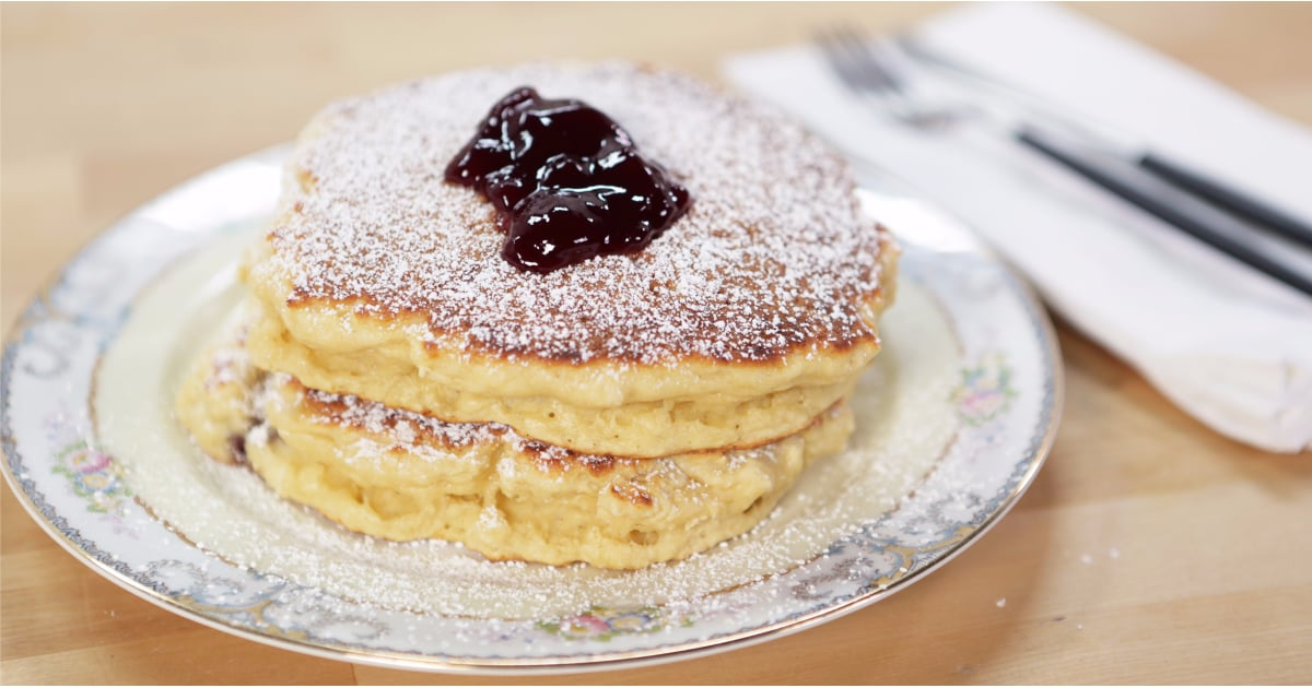 Jam (Jelly) Donut Pancakes
