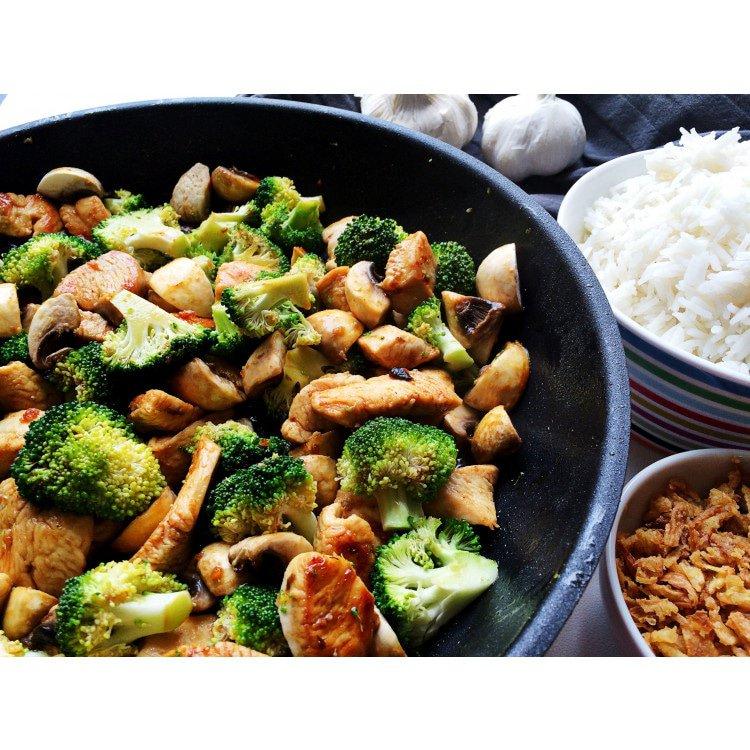 Hoisin Chicken and Broccoli Stir-fry