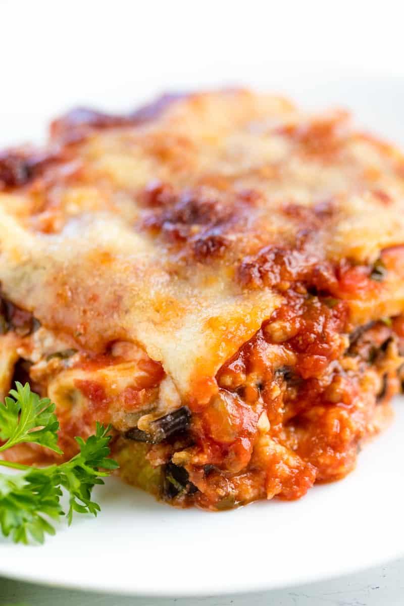 Sausage Eggplant Lasagna