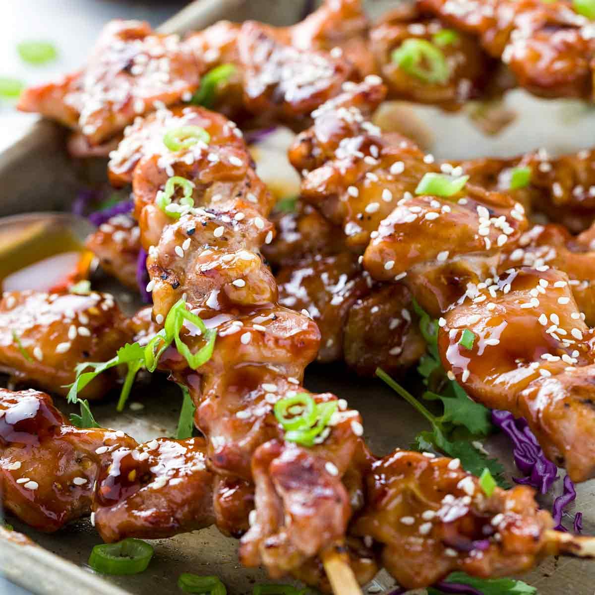 Delicious Chicken Yakitori