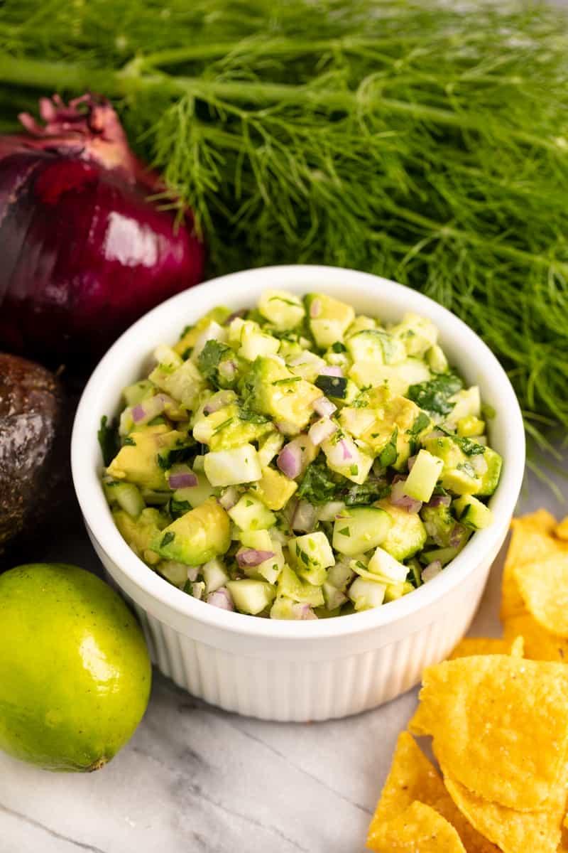 Avocado Fennel Salsa