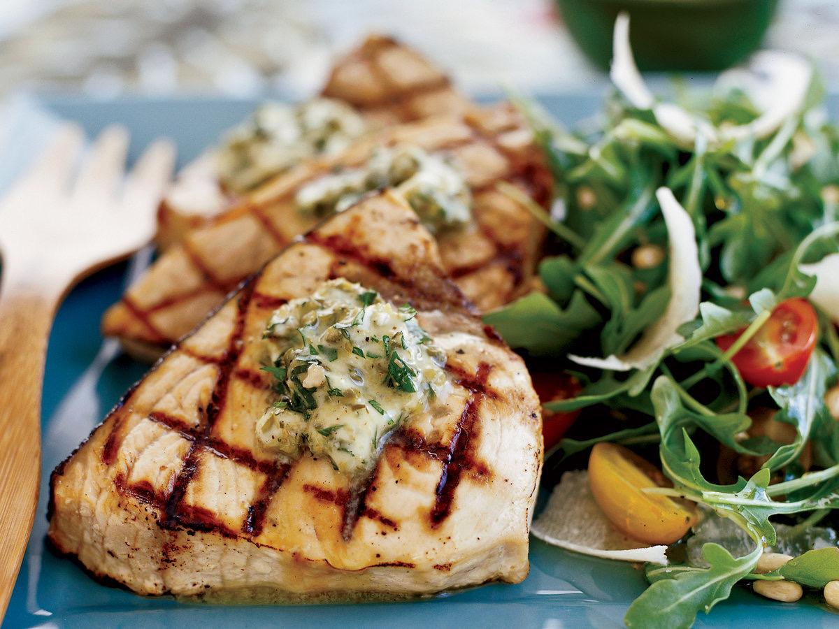 Tasty Grilled Swordfish