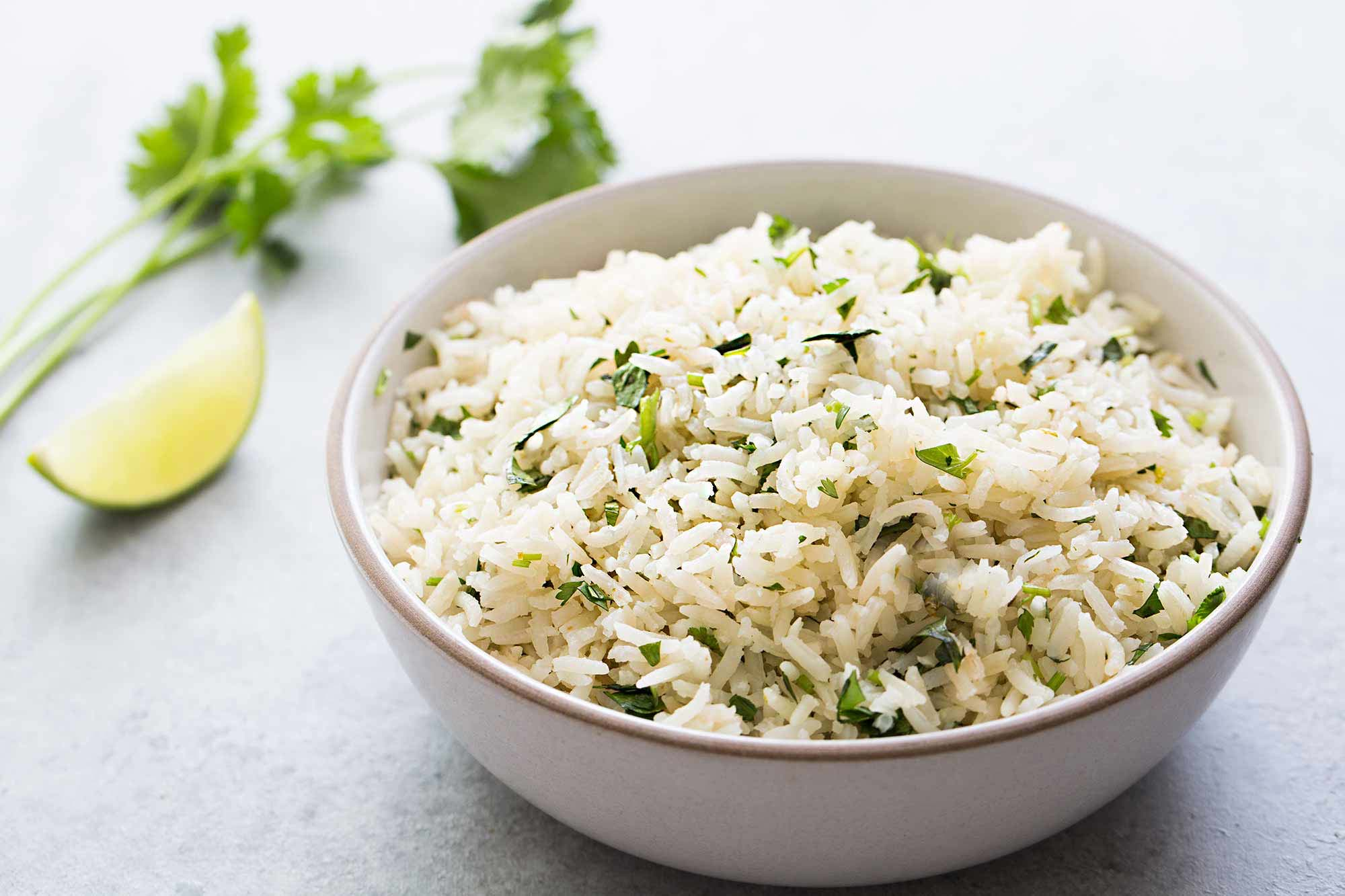 Cilantro Lime Rice Pilaf