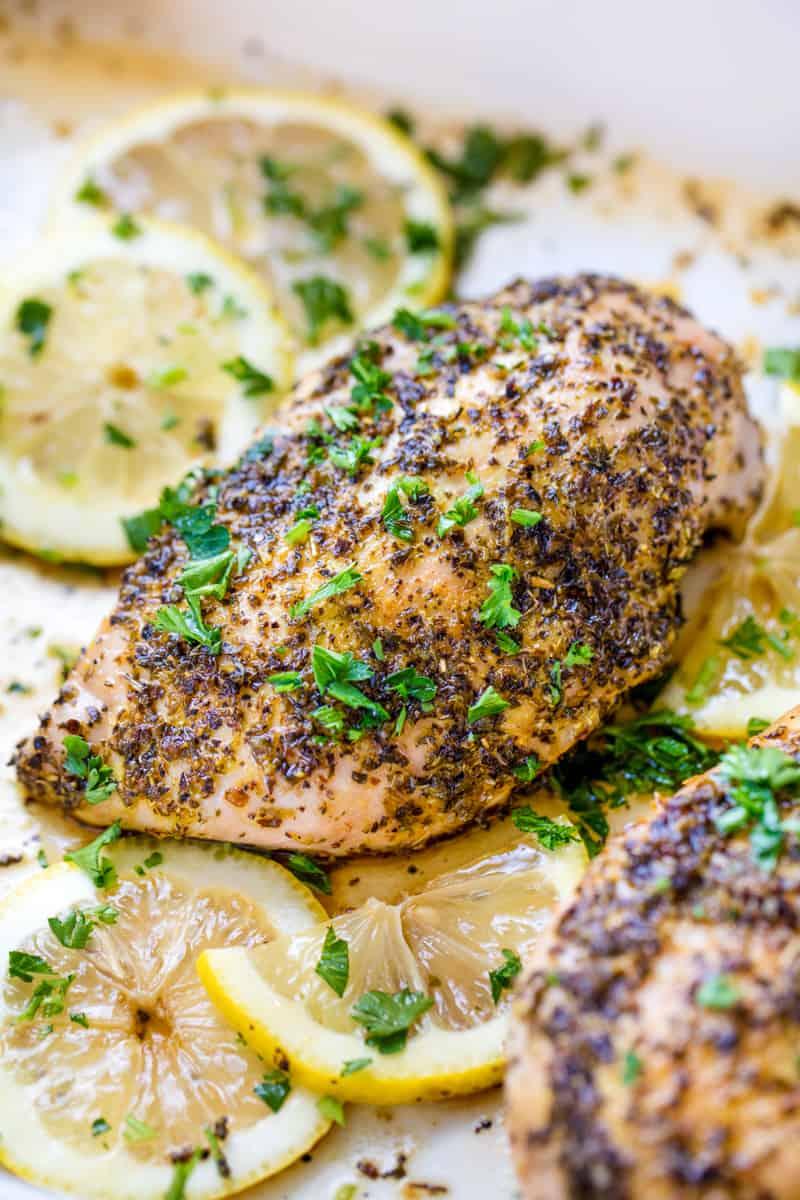 Best Baked Lemon Pepper Chicken