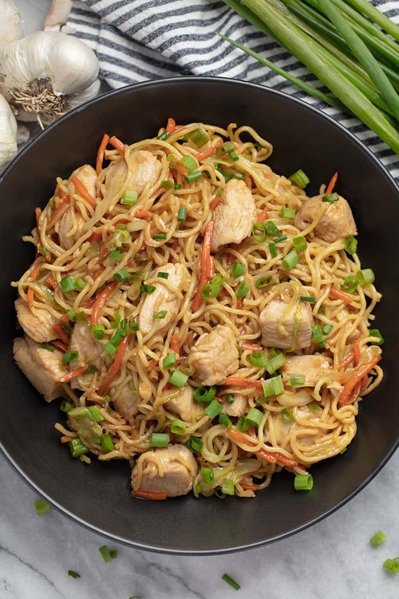Easy 30 Minute Chicken Chow Mein
