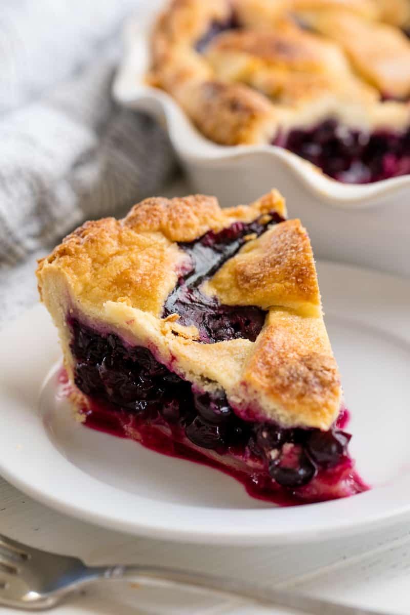 Perfect Blueberry Pie